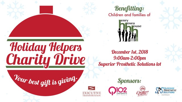 Holiday Hope Charity Drive 2018